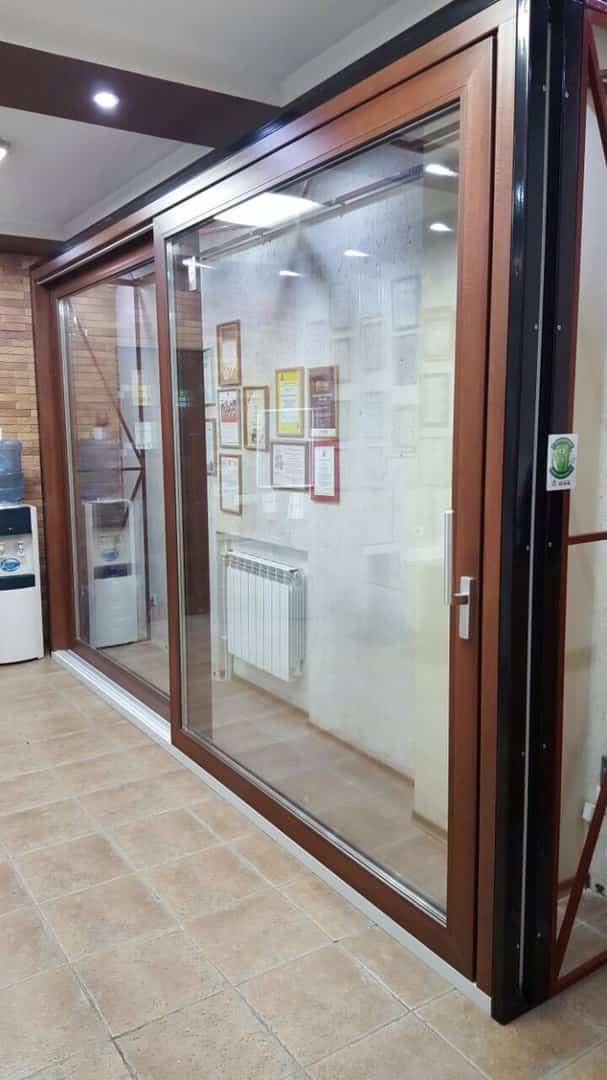 Панорамные раздвижные двери